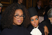 Oprah Winfrey and Janelle Monae attend the Stella McCartney show as part of the Paris Fashion Week Womenswear Fall/Winter 2019/2020  on March 04, 2019 in Paris, France.