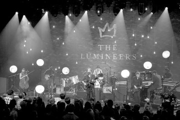 Stelth Ulvang The Lumineers on AT&T LIVE at the iHeartRadio Theater Los Angeles