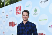 Matt Lanter at Step 2 Presents 6th Annual Celebrity Red CARpet Safety Awareness Event on September 23, 2017 in Culver City, California.