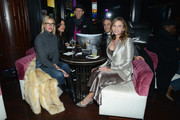 """Kristen and Josh Taekman and Heather Thomson and Jonathan Schindler attend CIROC's """"Step Into The Circle"""" Launch hosted by Sean Diddy Combs in Times Square on November 19, 2014 in New York City."""