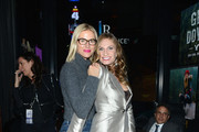 """Kristen Taekman and Heather Thomson attend CIROC's """"Step Into The Circle"""" Launch hosted by Sean Diddy Combs in Times Square on November 19, 2014 in New York City."""