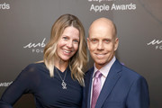 Tracie Hamilton and Scott Hamilton attend the Stephan Weiss Apple Awards at Urban Zen on October 24, 2018 in New York City.