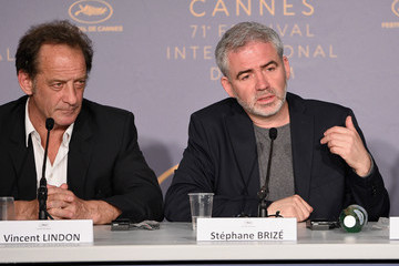 Stephane Brize 'In War (En Guerre)' Press Conference - The 71st Annual Cannes Film Festival