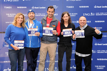 Stephanie Abrams  ING NYC Marathon Press Conference