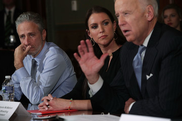 Stephanie McMahon Vice President Biden Hosts Roundtable On His Cancer Moonshot Initiative
