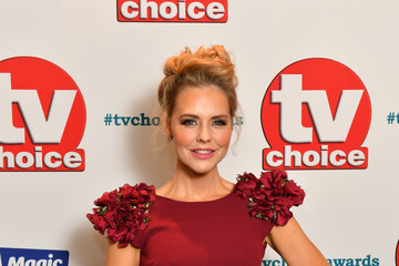 Stephanie Waring TV Choice Awards - Red Carpet Arrivals