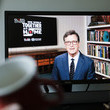 Stephen Colbert People Watch 'One World: Together At Home' In Hong Kong