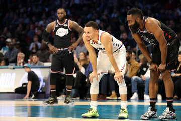 Stephen Curry James Harden 2019 NBA All-Star Game