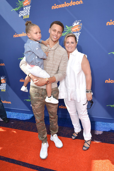 90b7d52c4289 Stephen Curry and Riley Curry Photos»Photostream · Pictures · Nickelodeon  Kids  Choice Sports Awards 2015 - Red Carpet