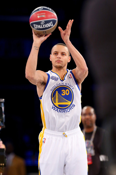 Stephen Curry 2014 Shooting