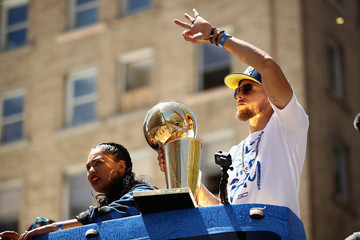 Stephen Curry Golden State Warriors Victory Parade