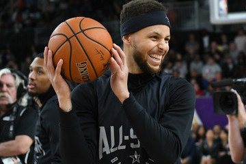 Stephen Curry 2018 NBA All-Star - Media Day & Practice