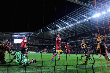 Stephen Harper Hull City v Southampton - Premier League