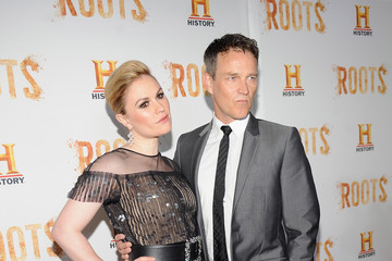 "Stephen Moyer HISTORY Hosts Premiere Screening Of 'Night One' Of The Four Night Epic Event Series, ""Roots"""
