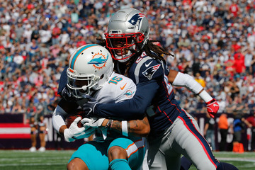 Stephon Gilmore Miami Dolphins vs. New England Patriots
