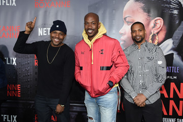 Stephon Marbury Special Screening Of The Netflix Film 'Roxanne Roxanne' At The SVA Theater In New York City