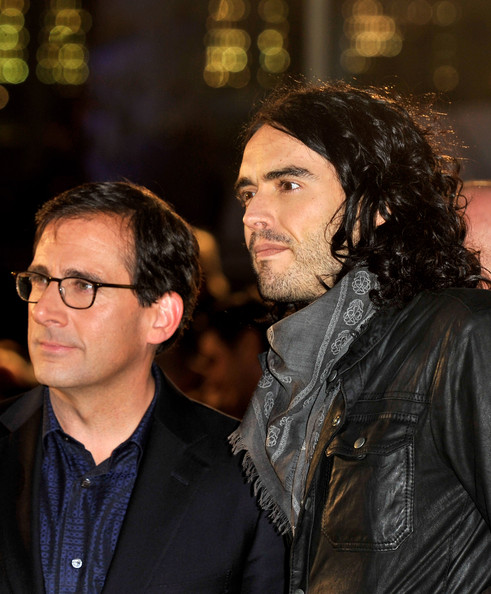 Russell Brand and Steve Carell - Despicable Me - UK Film Premiere Outside ...