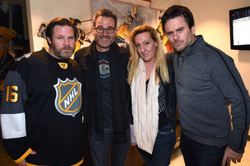 Steve Buchanan Celebrities Attend the 2016 NHL All-Star Game