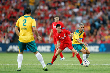 Steve Corica Liverpool FC Legends v Australian Legends