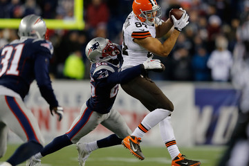 Steve Gregory Cleveland Browns v New England Patriots