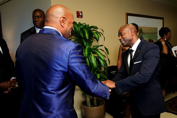 Steve Harvey The 2014 Steve & Marjorie Harvey Foundation Gala Presented By Coca-Cola - VIP Reception