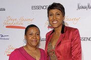 Pamela El of State Farm and journalist Robin Roberts attend the New York Gala benefiting The Steve Harvey Foundation at Cipriani, Wall Street on May 3, 2010 in New York City.