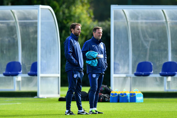 Steve Holland England Training Session