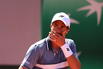 Steve Johnson 2021 French Open - Day Two