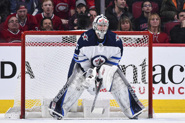 Steve Mason Winnipeg Jets vs. Montreal Canadiens