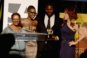 Steve McQueen Lupita Nyong'o AARP's Movies for Grownups Awards Gala
