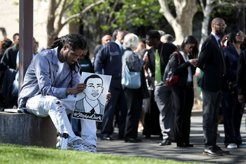 Steve Nash Funeral Services Held For Unarmed Man Killed By Sacramento Police