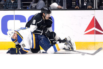 Steve Ott St Louis Blues v Los Angeles Kings