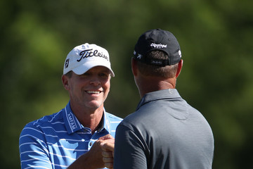 Steve Stricker Zurich Classic of New Orleans - Round One