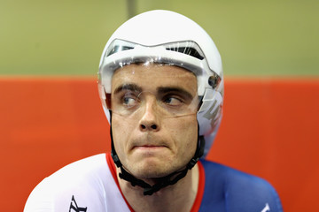 Steven Burke Track Cycling - European Championships Glasgow 2018: Day Two