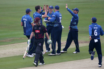 Steven Davies Kent Vs. Somerset - Royal London One-Day Cup