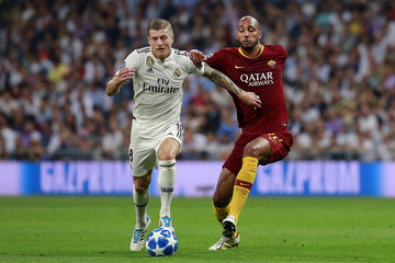 Steven N Real Madrid  v AS Roma - UEFA Champions League Group G