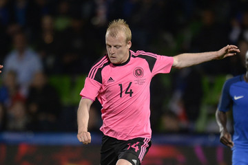 Steven Naismith France v Scotland - International Friendly