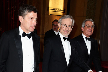 Steven Spielberg Ron Meyer 85th Annual Academy Awards - Post Show Arrivals