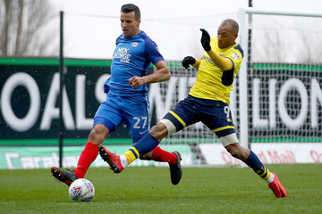 Steven Taylor Oxford United vs. Peterborough United - Sky Bet League One
