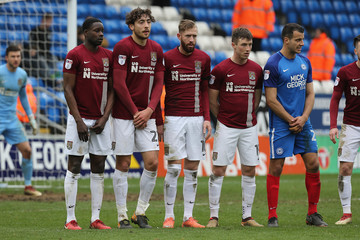 Steven Taylor Peterborough United v Northampton Town - Sky Bet League One