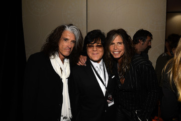Steven Tyler Joe Perry Backstage at the Songwriters Hall of Fame Awards