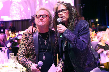 Steven Tyler Joey Kramer Steven Tyler And Live Nation Presents Inaugural Janie's FundGala & GRAMMY Viewing Party