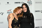 Chelsea Tyler (L) and Mia Tyler attend the Steven Tyler...Out On A Limb Benefit Concert on May 02, 2016 in New York, New York.