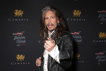 Steven Tyler Steven Tyler Appears at Cambria Gallery During TIFF