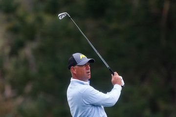 Stewart Cink AT&T Pebble Beach Pro-Am - Round Two