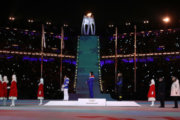 Stina Nilsson 2018 Winter Olympic Games - Closing Ceremony