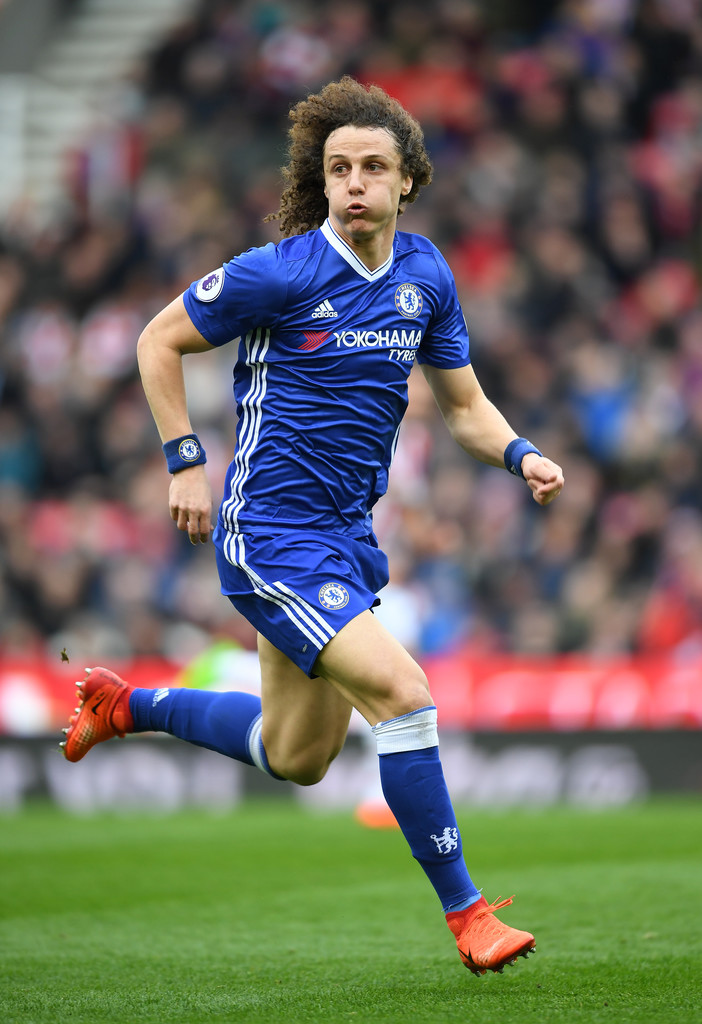David Luiz Photos Photos Stoke City V Chelsea Premier