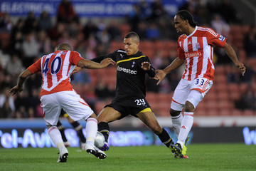 Jake Livermore Stoke City v Tottenham Hotspur - Carling Cup Third Round
