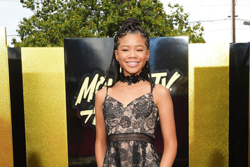 Storm Reid 2017 MTV Movie and TV Awards - Red Carpet