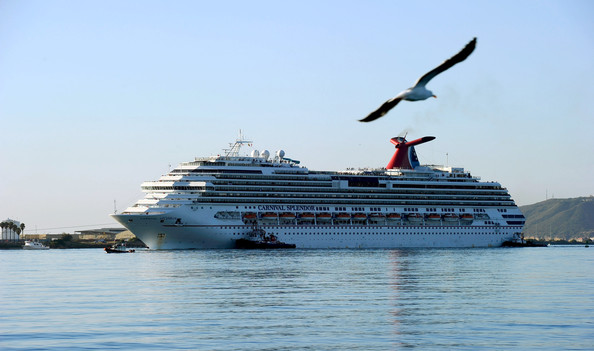 Stranded Carnival Cruise Ship Towed To San Diego  Zimbio